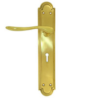 EB0530-lever-handle-brass