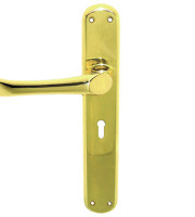 EB1027-lever-handle-brass